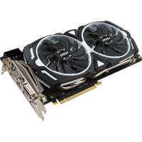 MSI GeForce GTX 1080 DirectX 12 GTX 1080 ARMOR 8G OC 8GB 256-Bit GDDR5X ATX Video Card