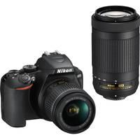Deals List: Nikon D3500 24.2MP DSLR Camera w/18-55mm and 70-300mm Lens Bundle