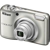 Nikon COOLPIX A10 16.1MP 720p Digital SLR Camera (Silver) - Manufacturer Refurbished + CPS 1 Year Warranty