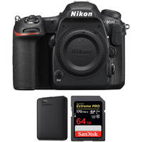 Deals on Nikon D500 DSLR Camera Body with Storage Kit