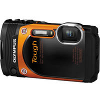 Olympus TG-860 16MP Tough Waterproof Digital Camera with 3