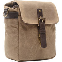 Deals on ONA Bond Street Waxed Canvas Camera Bag ONA5-064RT