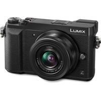 Panasonic Lumix DMC-GX85KBODY 16MP 4K Digital Camera (Black) + $100 Gift Card + Panasonic Lumix G 45-150mm f/4-5.6 ASPH. Lens