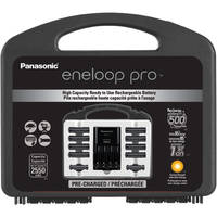 Panasonic K-KJ17KHC82A eneloop pro NEW High Capacity Power Pack with Advanced Individual Battery Charger