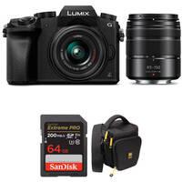 Panasonic Lumix DMC-G7 Digital Camera w/14-42mm & 45-150mm Lenses Deals