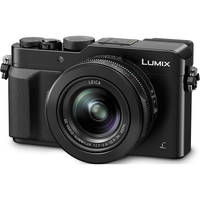 Panasonic Lumix DMC-LX100 12.8 Megapixels 4K Digital Camera with 3x Optical Zoom (Black)
