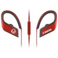 Panasonic RP-BTS30P1-R WINGS Wireless Bluetooth Sport Clips with Mic & Controller (Spartan Red)