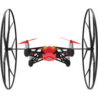 Parrot Rolling Spider Helicopter with HD Camera (Red) - Refurbished