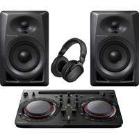 Pioneer DJ Performance Pack with Controller, Speakers and Headphones
