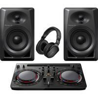 Deals on Pioneer DJ Performance Pack w/Controller, Speakers, Headphones