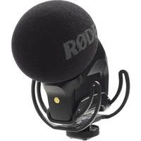 Rode Stereo VideoMic Pro Rycote Condenser On-Camera Microphone + Rode Dead Kitten Fur