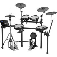 Roland TD-25KV V-Drums 10-Piece Electronic Drum Kit with Drum Module + Drum Throne + Pedal + Drumsticks 5A