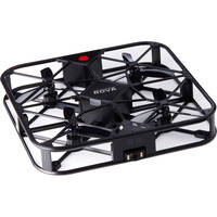 ROVA Flying Selfie Drone with 12MP Camera and HD Video (Black) - Certified Refurbished