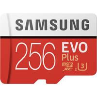 Samsung EVO Plus 256GB UHS-I / Class 10 600x microSDXC Memory Card with SD Adapter (MB-MC256GA/EU)