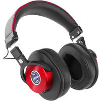 Senal SMH-1200 Over-Ear 3.5mm Wired Studio Headphones (Cherry Red)