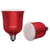 Sengled Pulse LED Light Bulb with Wireless Speaker (Pair) + $25 Dell eGift Card