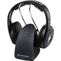 Sennheiser RS 135 Over-Ear Wireless Bluetooth Headphones with RF Transmitter