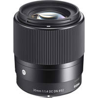 Sigma 30mm f/1.4 DC DN Lens Contemporary For Sony E-mount Cameras