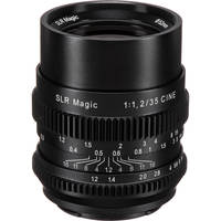 SLR Magic Cine 35mm f/1.2 FE Lens for Sony E-Mount Deals