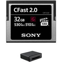 Deals on Sony 32GB CFast 2.0 G Series Memory Card w/USB 3.0 Card Reader