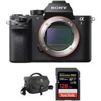 Sony Alpha a7R II Mirrorless Digital Camera Body Professional Kit Deals