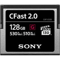 Sony 64GB CFast 2.0 G Series Memory Card (2-Pack) + Lexar CR1 Card Reader