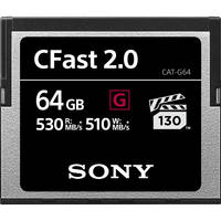 Deals on Sony 64GB CFast 2.0 G Series Memory Card CAT-G64