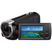 Sony HDRCX240/B Full HD 1080p Flash Memory SDHC/SD Camcorder with 27x Optical Zoom & 2.7
