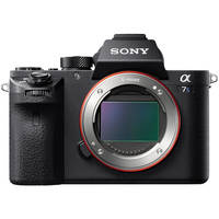 Sony ILCE-7SM2/B 12.1MP 4K Mirrorless Digital Camera Body (Black)