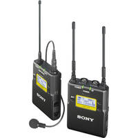 Sony UWP-D11 Integrated Digital Wireless Bodypack Lavalier Microphone System (Black)