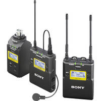 Deals on Sony UWP-D16 Camera-Mount Wireless Combo Microphone System