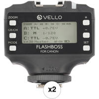 Vello FlashBoss TTL 2-Transceiver Kit for Canon