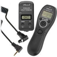 Deals on Vello Wireless ShutterBoss III Remote Switch for Canon Cameras