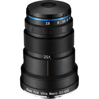 Venus Optics Laowa 25mm f/2.8 2.5-5X Ultra Macro Lens for Canon Deals