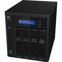 WD WDBWZE0320KBK-NESN 4-Bay 32TB 5400RPM Cloud Network Attached Storage for Windows/Mac with Marvell