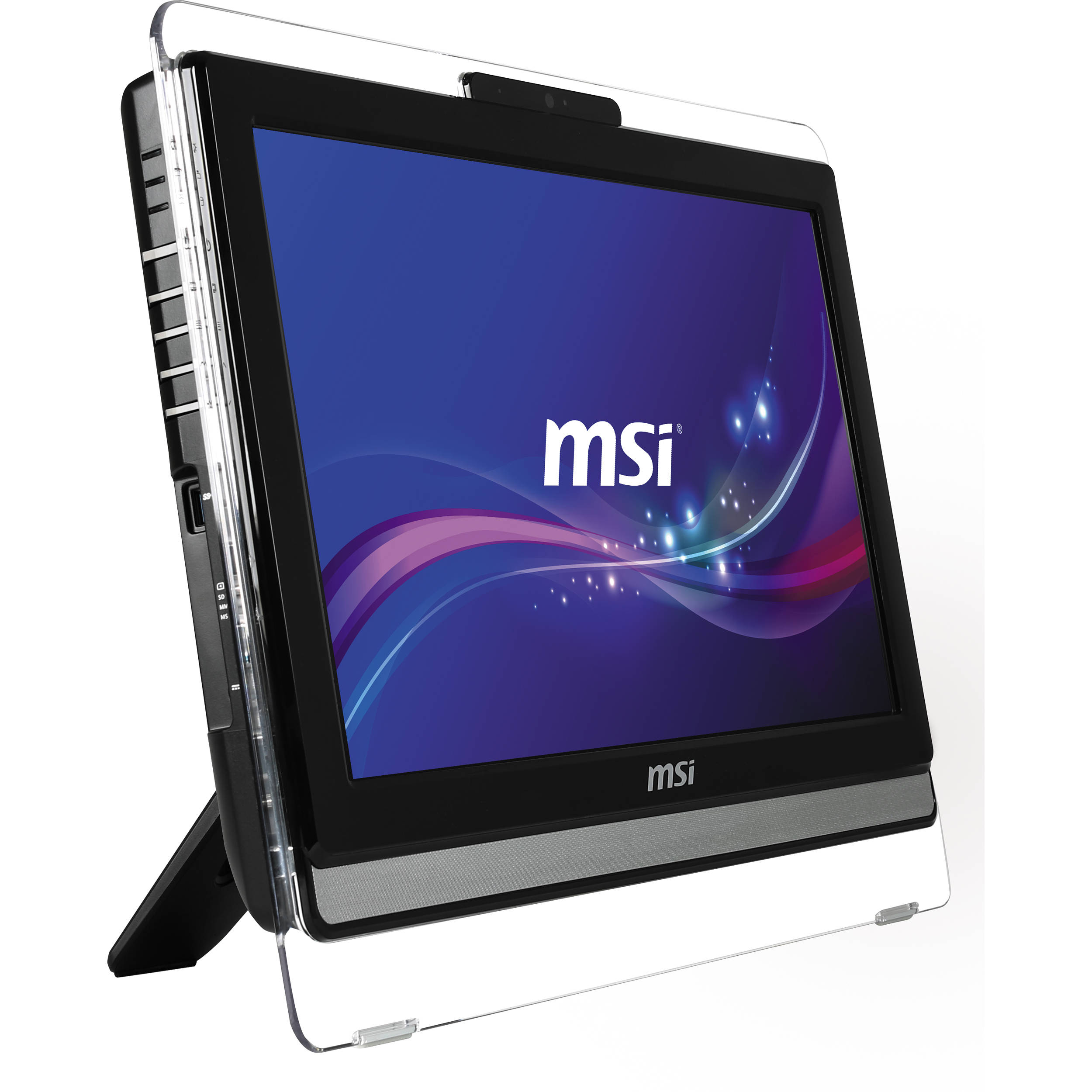 Msi Ae202 19 5 Quot Lcd Multi Touch All In One Pc Ae202 013us