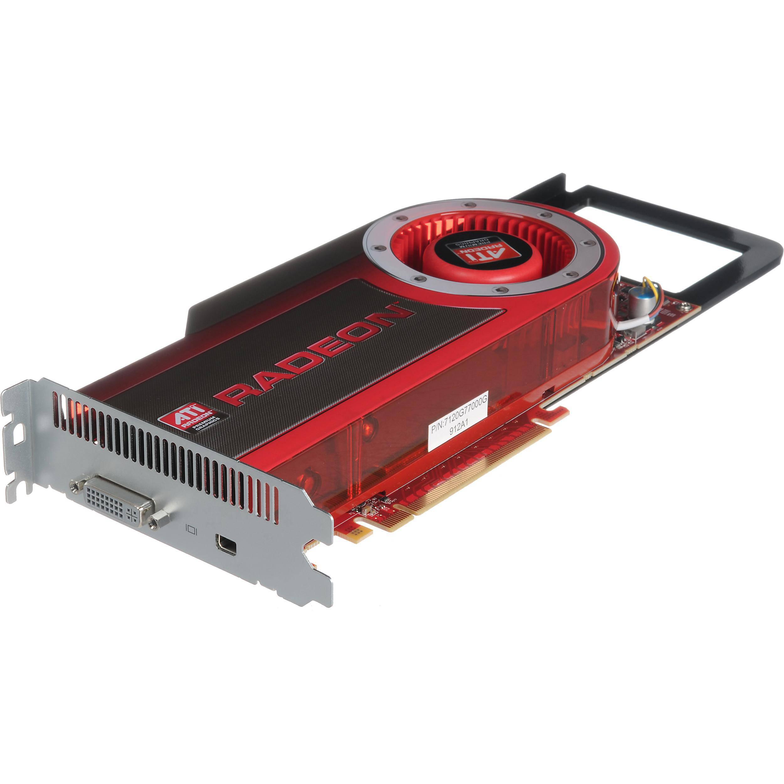 Apple AMD Radeon HD 4870 512MB Graphics Card Kit MB999ZM//A for Mac Pro