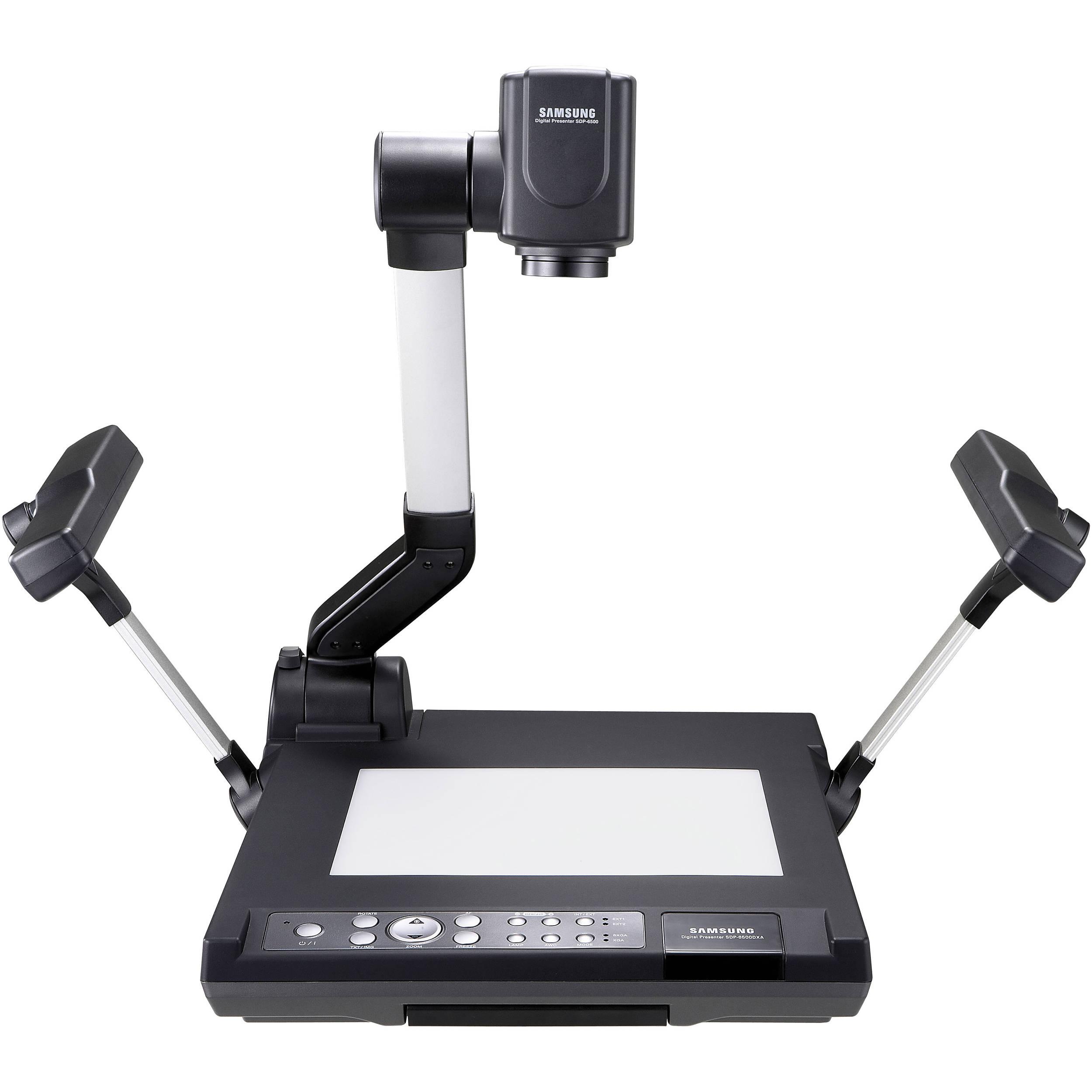 Samsung SDP-6500DXA High Resolution Digital Presenter, SXGA, 12x Optical  Zoom Lens, Built-In Lights