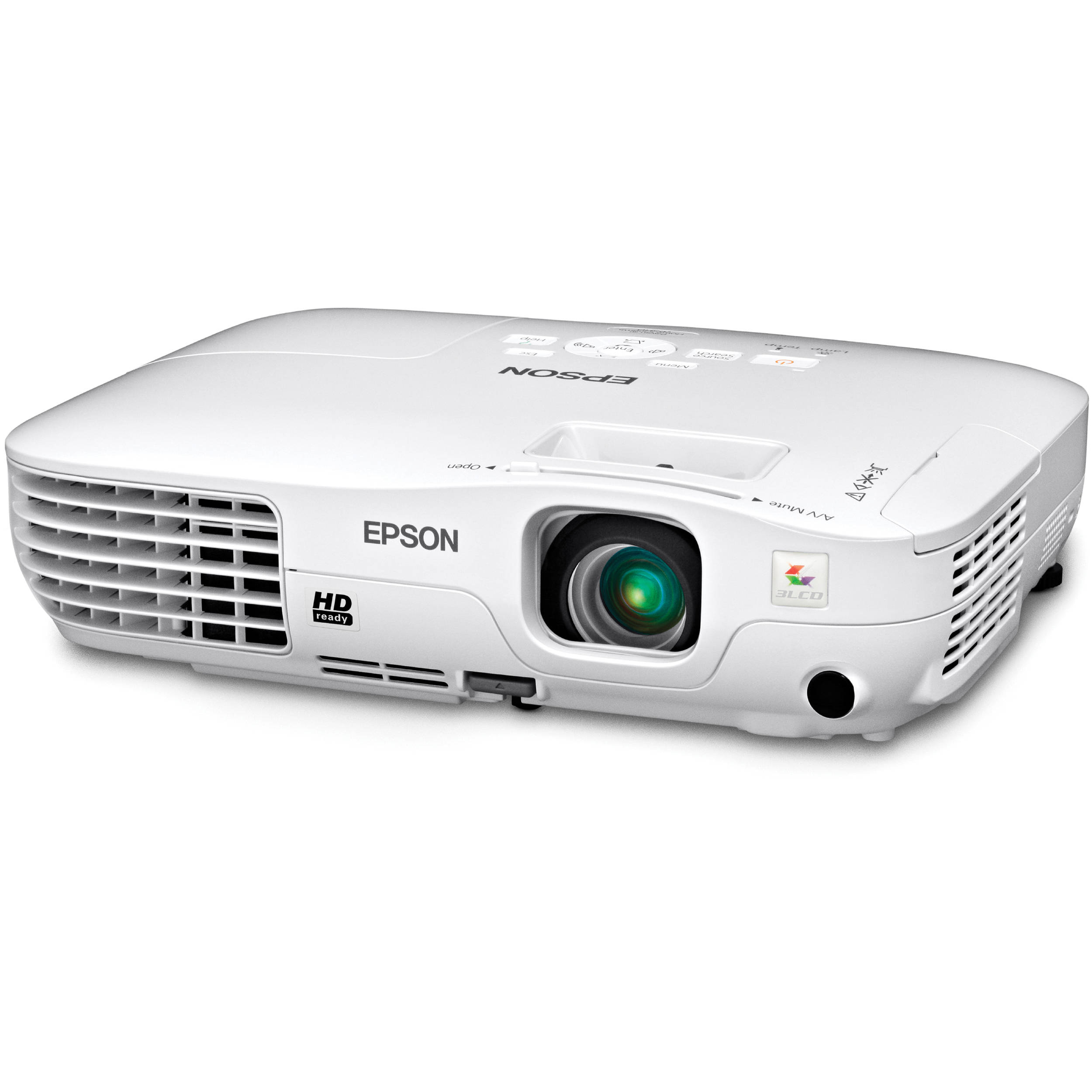 27238be39cd985 Epson 705HD Powerlite Home Cinema LCD Projector V11H331020 B&H
