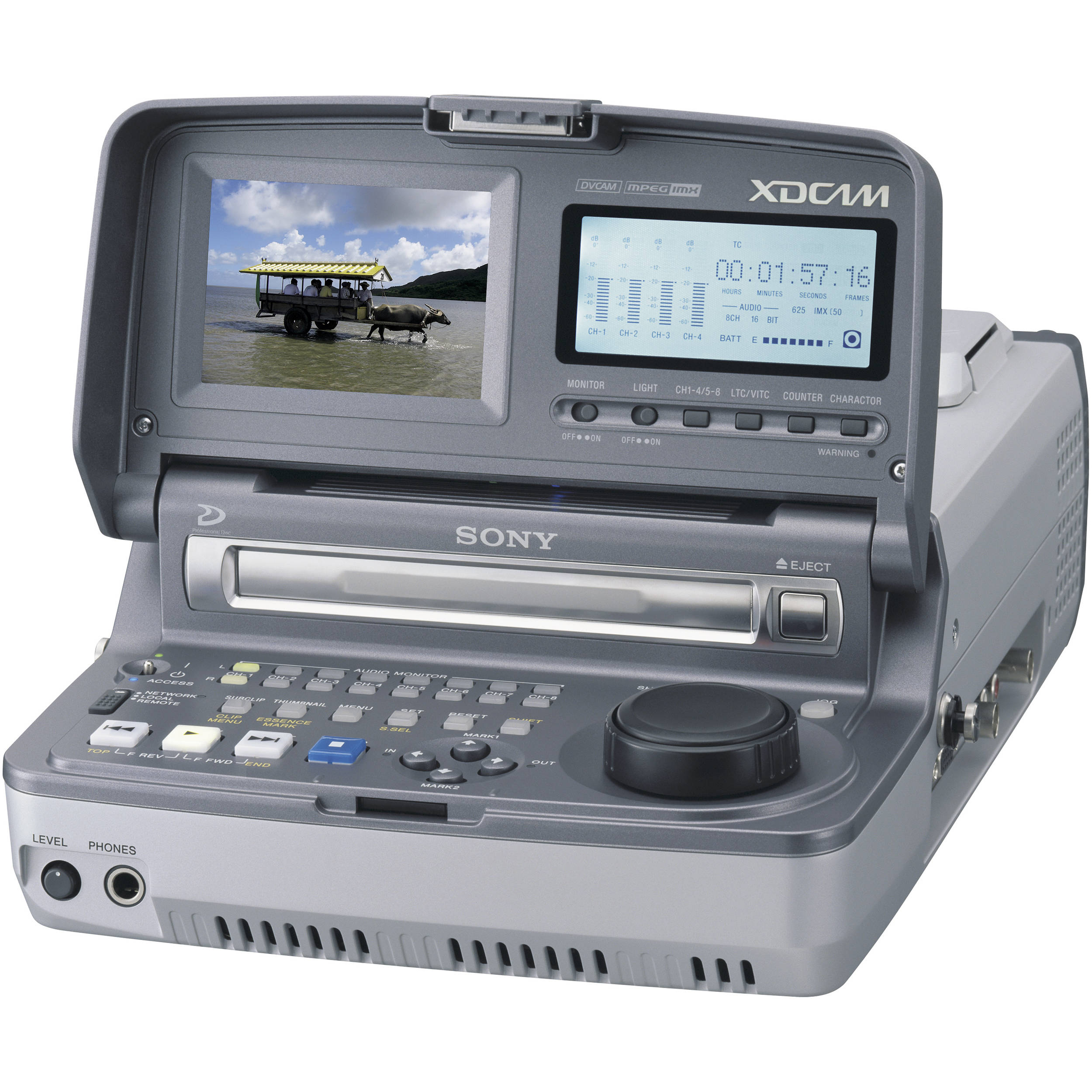 Sony PDW-V1 Mobile XDCAM Player, MPEG IMX/DVCAM, i LINK compatible