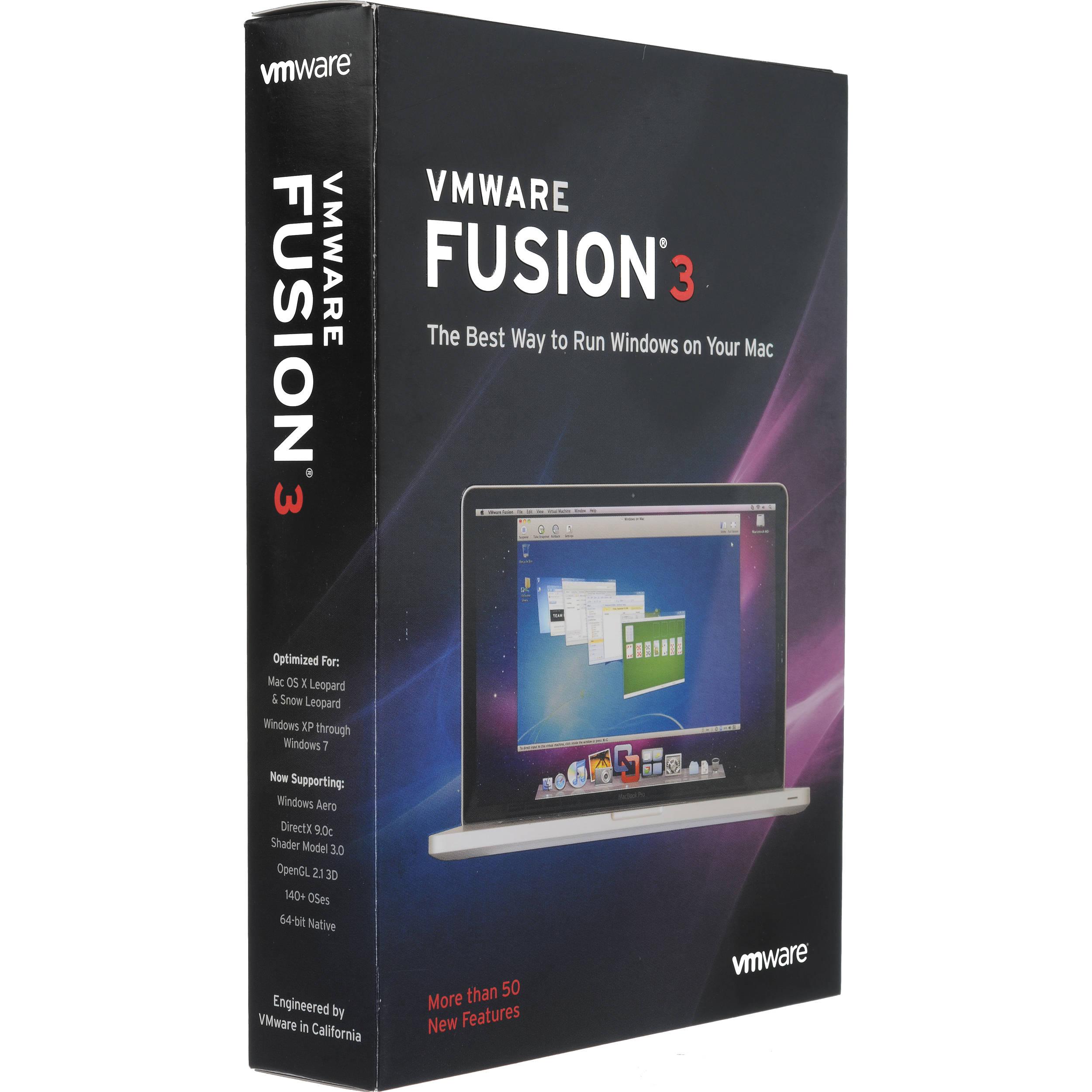 VMware Fusion 3 Software for Mac OS X