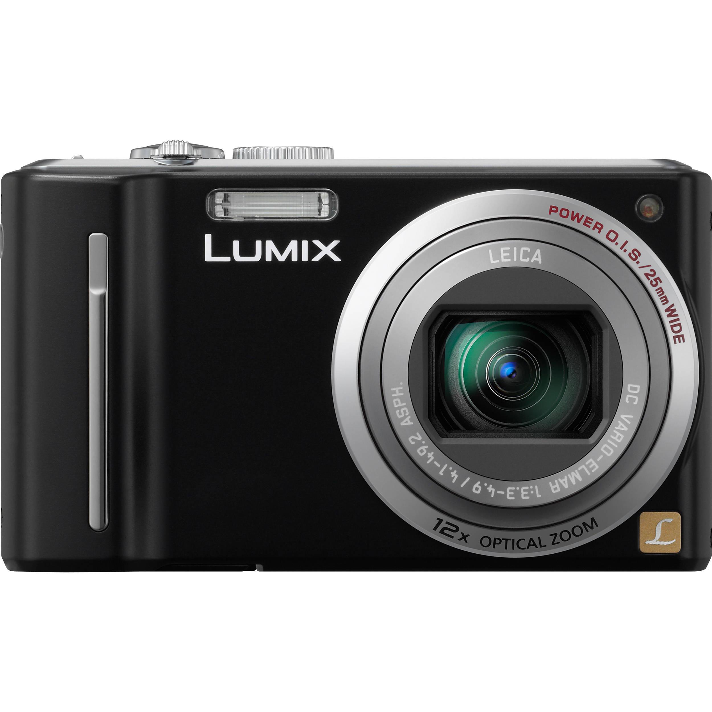 Panasonic LUMIX DMC-ZS5 Digital Camera (Black)