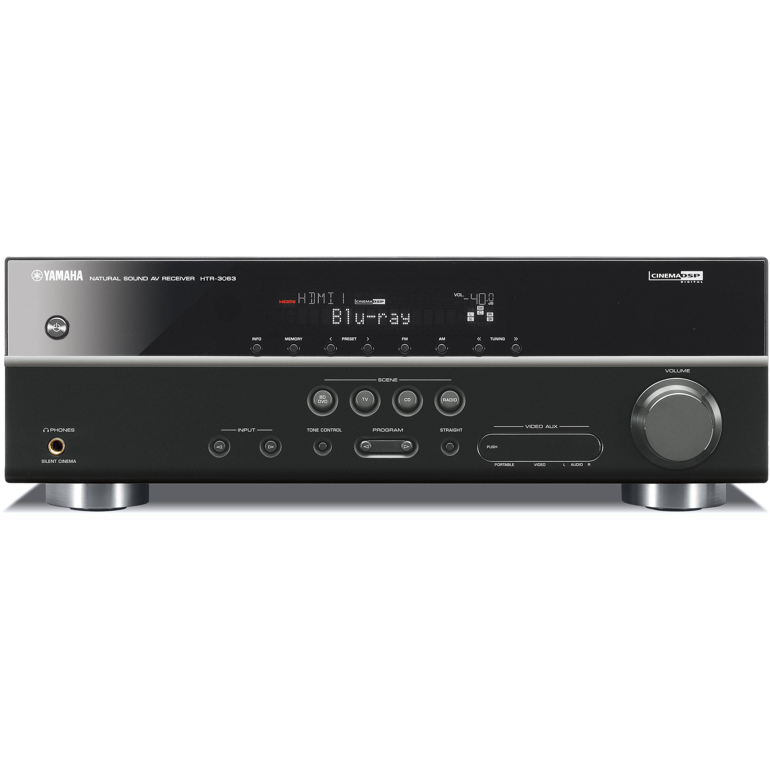 Yamaha HTR-3063 5 1 Channel Home Theater Receiver