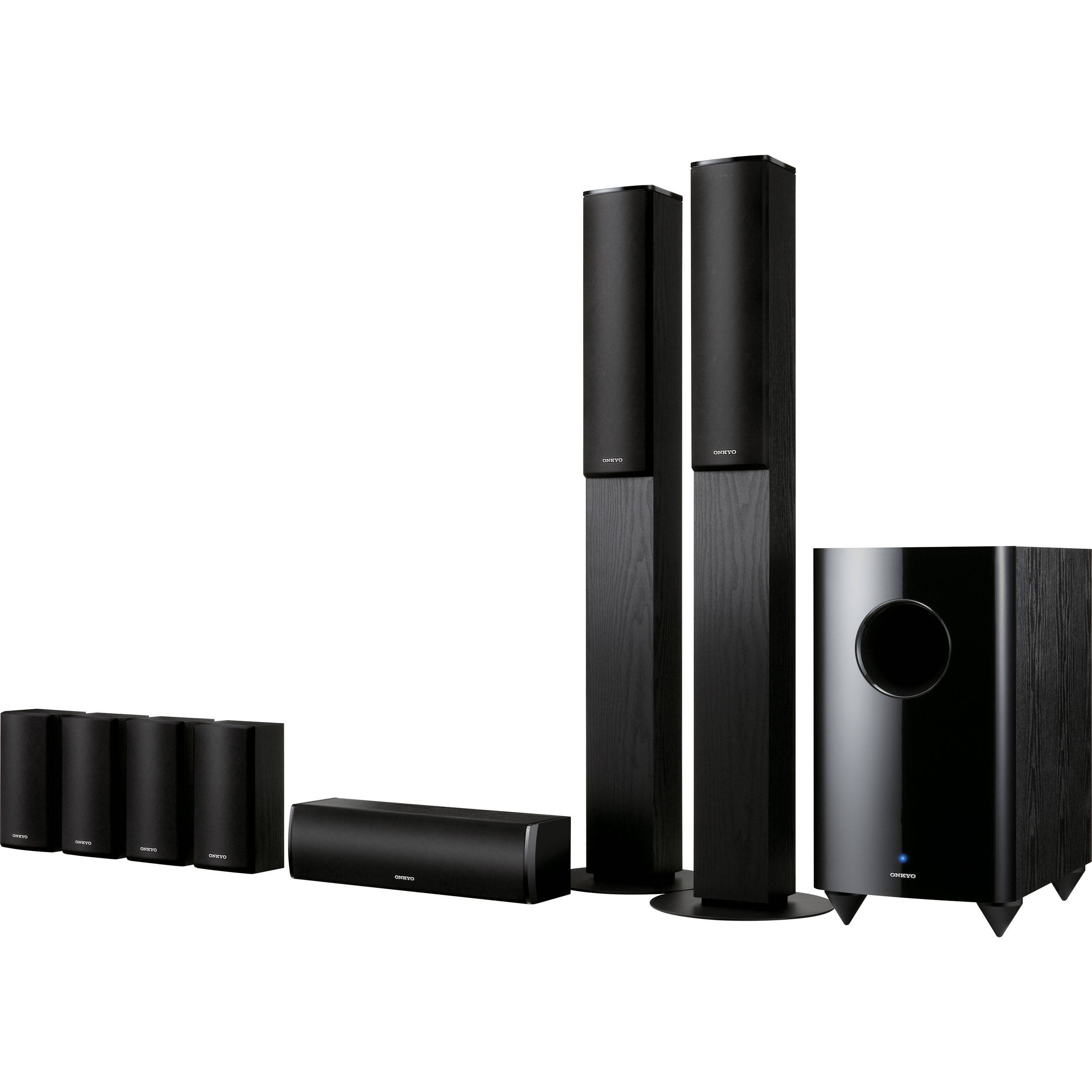 Onkyo SKS-HT870 7 1-Channel Home Theater Speaker System