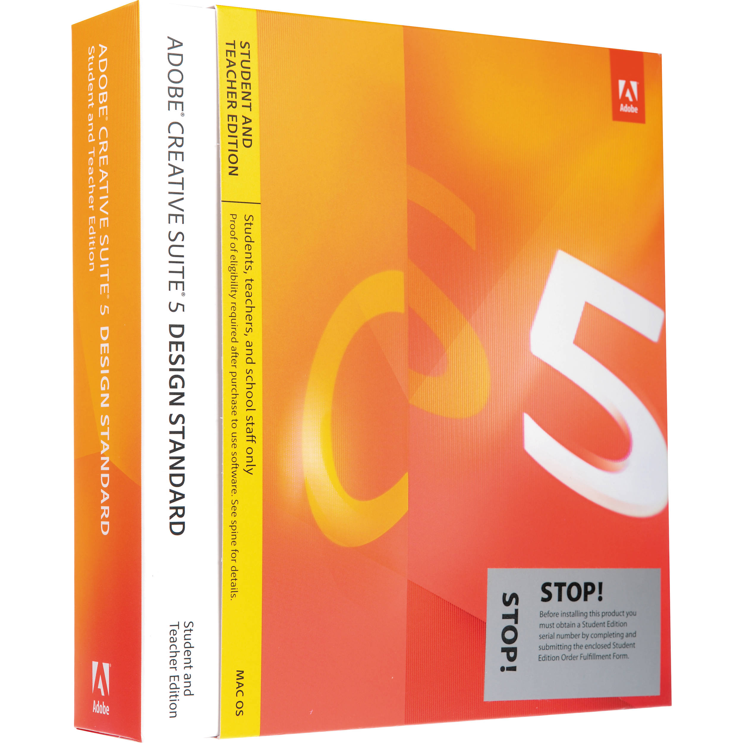 How much is a Adobe CS5.5 Design Standard Student And Teacher Edition?