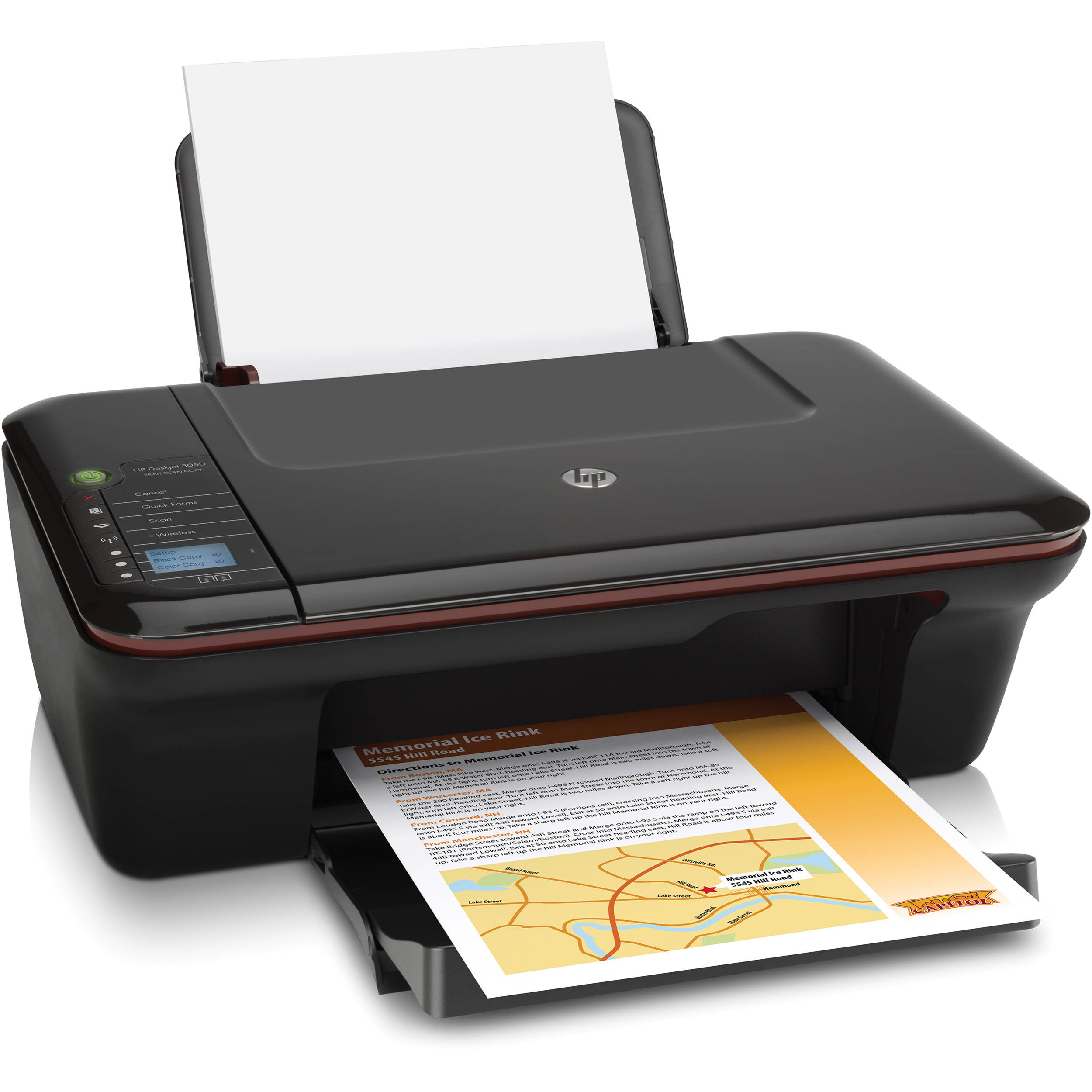 HP Deskjet 3050 Wireless All-in-One Color Inkjet Printer
