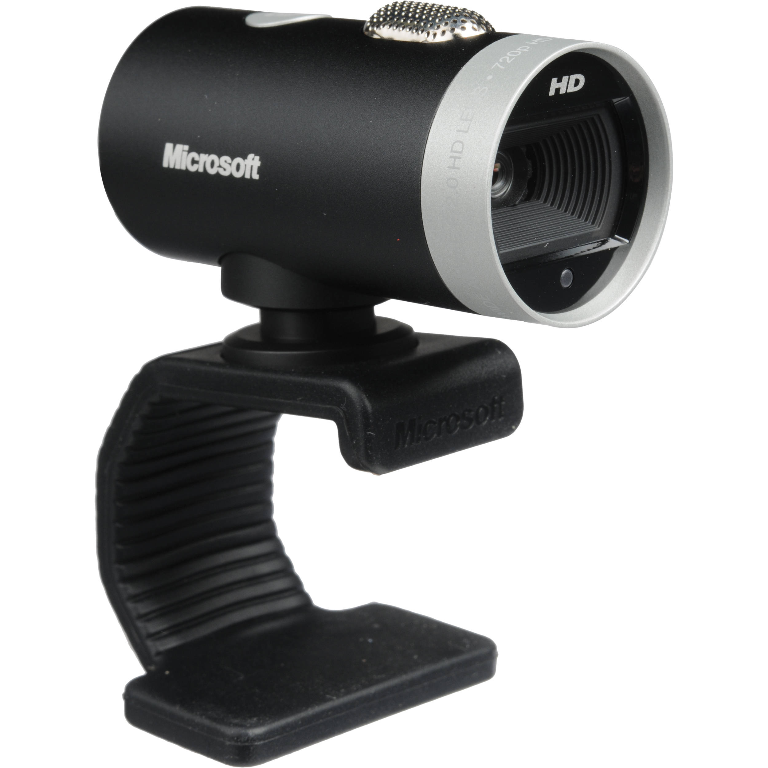 Black Brand New Microsoft LifeCam Cinema 720p HD Webcam for Business