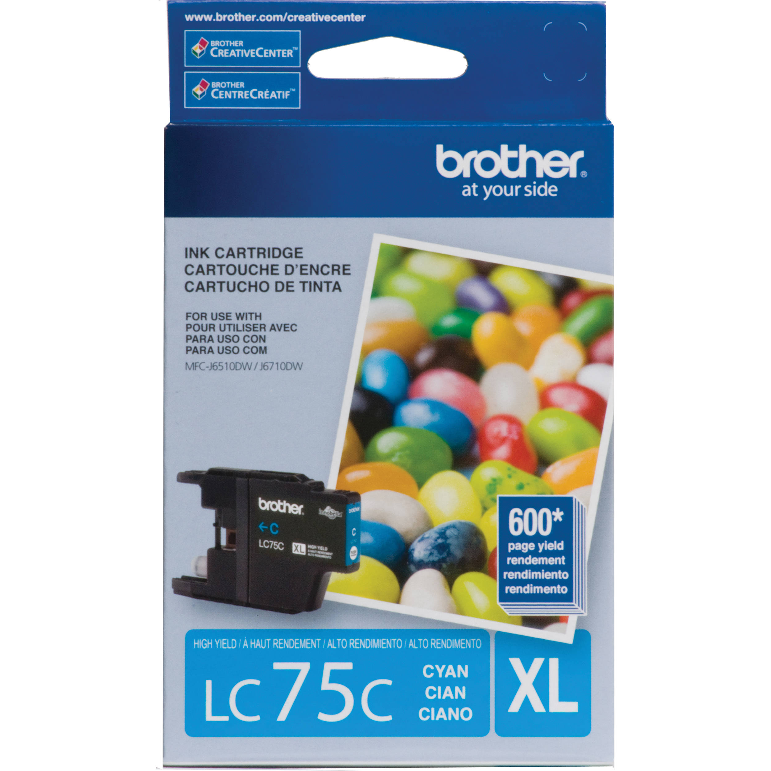 Brother B-LC75C (Single Cartridge)
