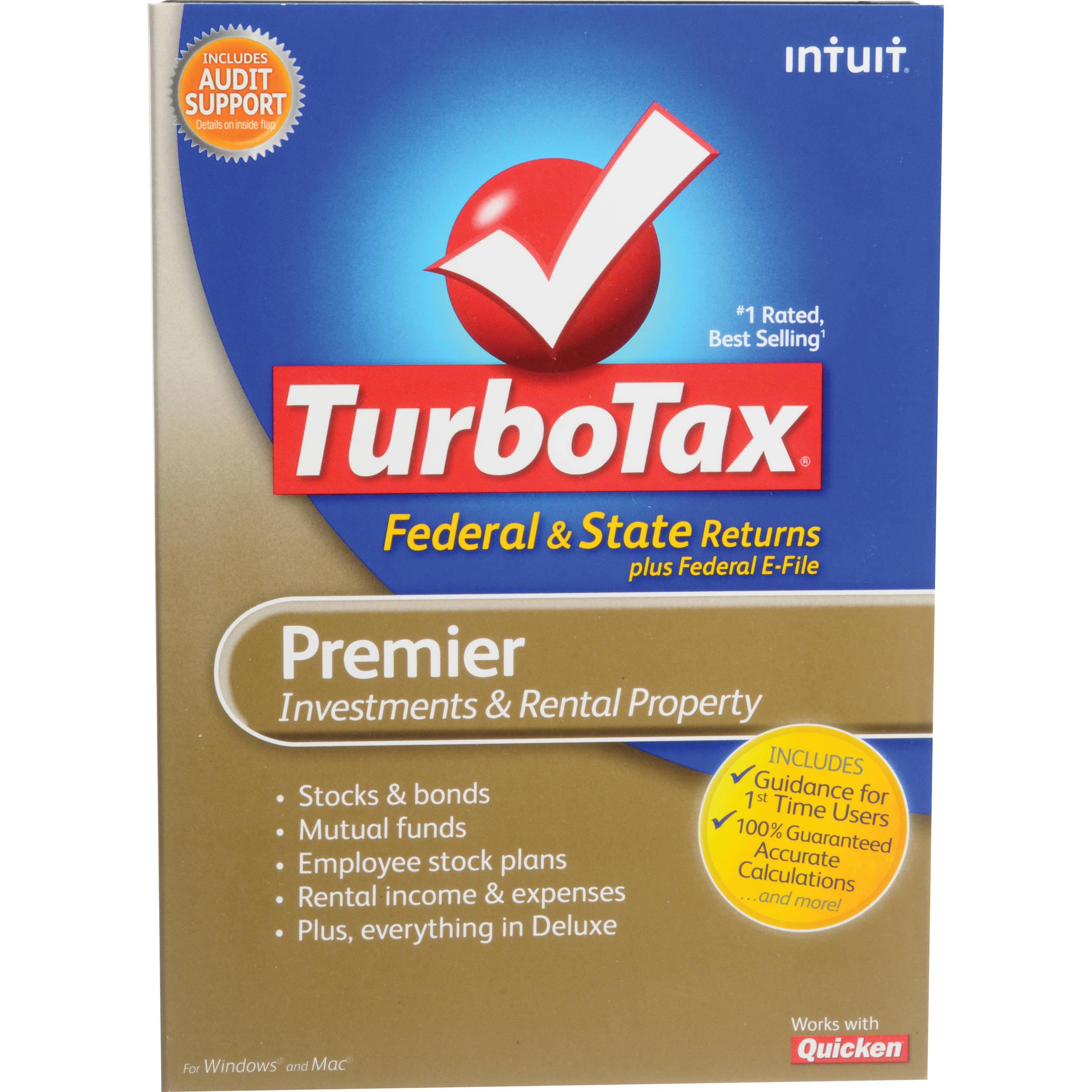 Intuit TurboTax Premier Software