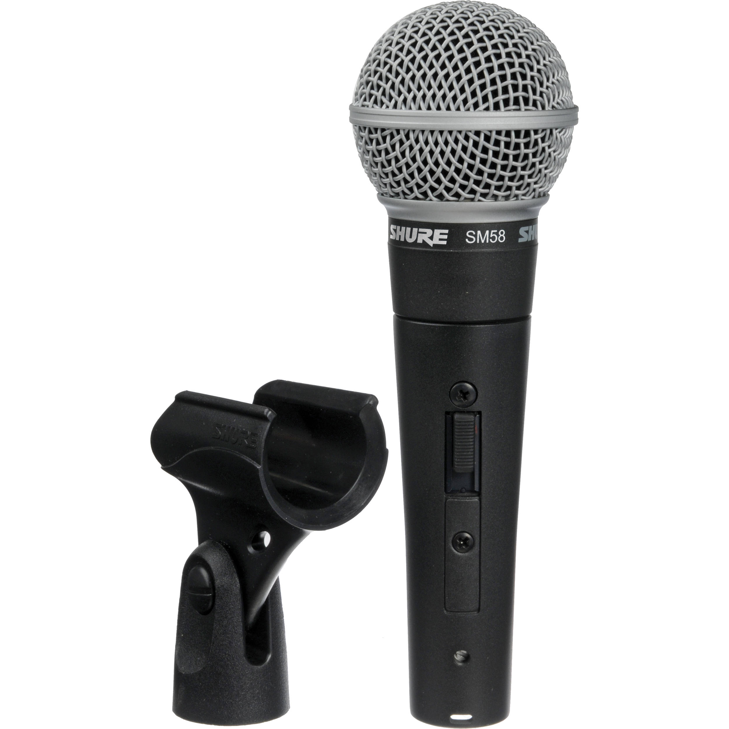 cable /& clip Dynamic cardioid microphone handheld vocal with On//Off Switch